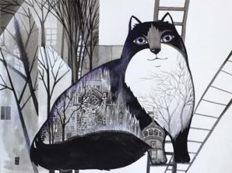 Black Cat 2 | Obraz na stenu