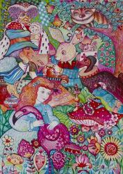Alice in Wonderland | Obraz na stenu