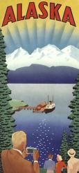 Alaska Whitecap Mountains | Obraz na stenu