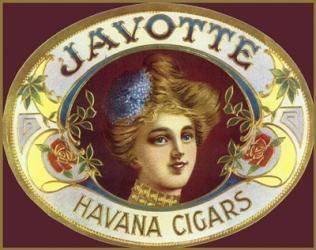 Adv Javotte Havana Cigars | Obraz na stenu