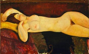 Reclining Nude Arch | Obraz na stenu