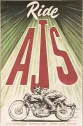 Ajs Motorcycle | Obraz na stenu