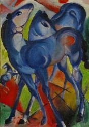 Blue Fillies, 1913 | Obraz na stenu