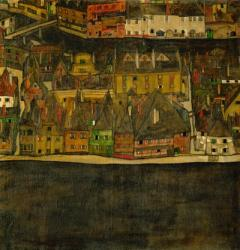 Die Kleine Stadt (II), 1912-1913 | Obraz na stenu