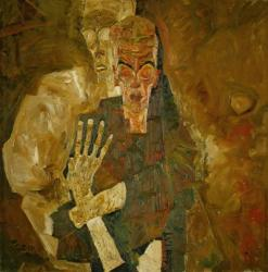Death And Mann, 1911 | Obraz na stenu