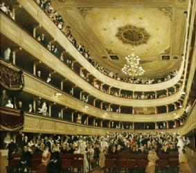 "Auditorium In The """"Altes Burgtheater"""", 1888 