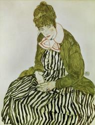 Edith Schiele Seated, 1915 | Obraz na stenu