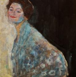 Damenbildnis In Weiss - Portrait Of A Lady In White, 1917-1918