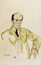 Composer Arnold Schoenberg, 1917 | Obraz na stenu