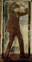 Egon Schiele With Raised Arms, 1914 | Obraz na stenu