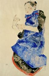 Girl In Blue Apron, 1912 | Obraz na stenu