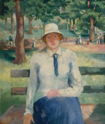 Girl Relaxing, Late 1920s | Obraz na stenu