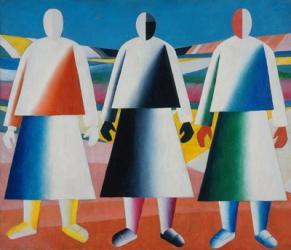 Girls in the Field, c. 1928 | Obraz na stenu