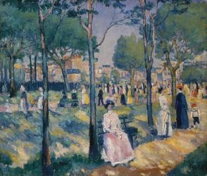 On the Bouleveard, c. 1903 | Obraz na stenu
