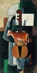Bull and Violin, 1903 | Obraz na stenu