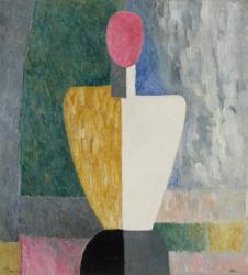 Bust (Figure with a Pink Face), c. 1923 | Obraz na stenu
