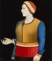 Portrait of Natalia A Mancenko, 1933 | Obraz na stenu