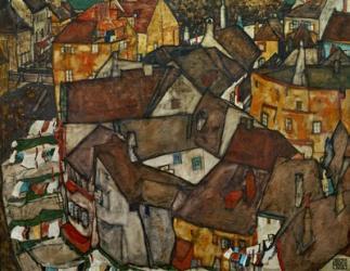 A Village, 1915 | Obraz na stenu