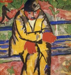 On the Boulevard, 1910   Obraz na stenu