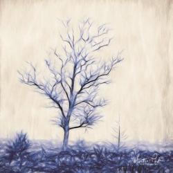 Tree in Blue | Obraz na stenu