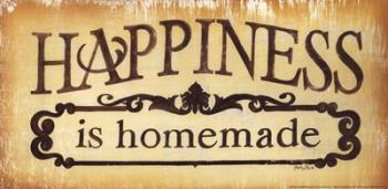 Happiness is Homemade | Obraz na stenu