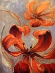 Floral In Rust | Obraz na stenu