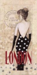 London Lady | Obraz na stenu