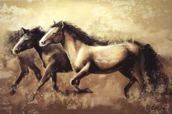 Galloping Horses | Obraz na stenu