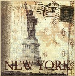New York Postcard   Obraz na stenu