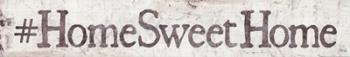 #HomeSweetHome | Obraz na stenu