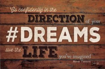 #DREAMS - Live the Life | Obraz na stenu