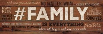 #FAMILY Is Everything | Obraz na stenu