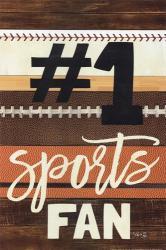 #1 Sports Fan | Obraz na stenu