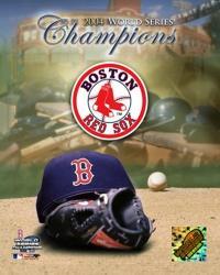 '04 Boston Red Sox World Champions and Logo   Obraz na stenu