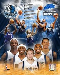'05 / '06 Mavericks Western Conference Champions Composite | Obraz na stenu