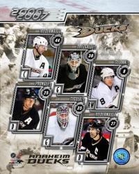 '06 / '07 Ducks Team Composite | Obraz na stenu