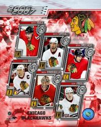 '06 / '07 -  Blackhawks Team Composite | Obraz na stenu