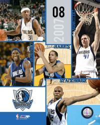 '07 / '08 Mavericks Team Composite | Obraz na stenu