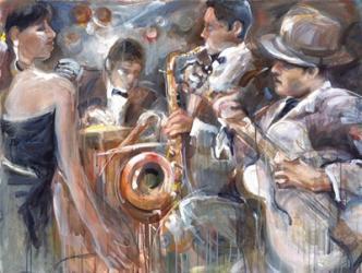 All About Jazz I   Obraz na stenu
