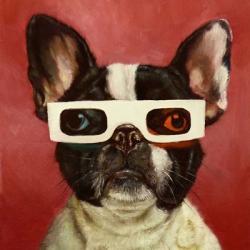3D Dog | Obraz na stenu