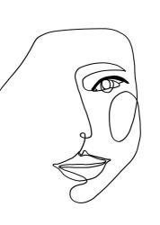 Face Line 1 | Obraz na stenu