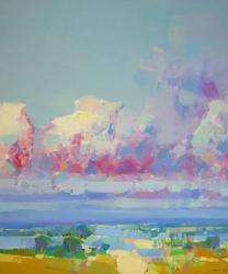 Purple Clouds | Obraz na stenu