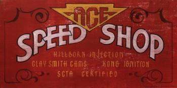 Ace Speed Shops | Obraz na stenu