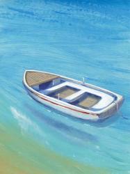Anchored Dingy I | Obraz na stenu