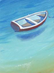 Anchored Dingy II | Obraz na stenu