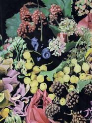 Floral on Black II | Obraz na stenu
