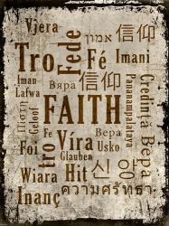 Faith in Multiple Languages | Obraz na stenu