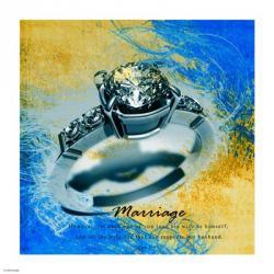 Marriage Quote II | Obraz na stenu