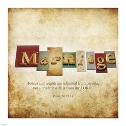 Marriage | Obraz na stenu