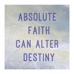 Absolute Faith   Obraz na stenu